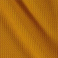 telio pique knit mustard discount designer fabric fabric