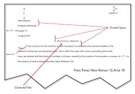 resume mla format format