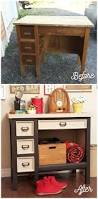 Contact Paper Desk Makeover Old Desk Makeover With Voice Of Color Fynes Designs Fynes Designs