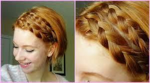 plait hairstyles for short hair double dutch braid hair tutorial short hair youtube braids on
