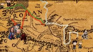 Lord Of The Rings Map Lord Of The Rings Animated Historic Map Timeline Of Fellowship