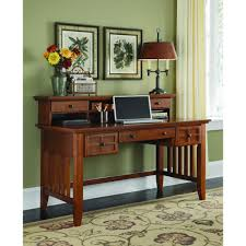 home styles arts and crafts black desk with hutch 5181 152 the