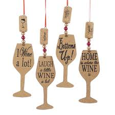 wine glass christmas ornaments kurt adler christmas ornament shelley b home and
