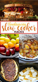 thanksgiving cooker hacks smart school house
