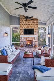innenarchitektur exterior design engaging brick fireplace