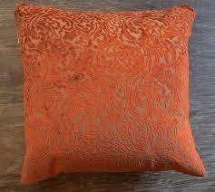 burnt orange sofa pillows comfortable and unique sofas
