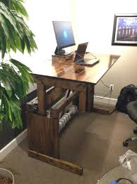 Tv Stand Desk by Best Sit Stand Desk K Home Design Goxxo