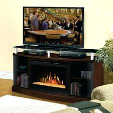 Tv Stands With Electric Fireplace Fireplace And Tv Stand Combo Electric Fireplaces At Wall Mount