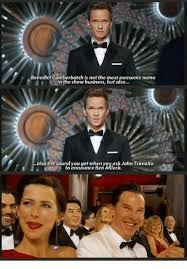 Meme John Travolta - benedict cumberbatch is not the most awesome name in the show