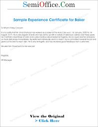 baker sample resume general resume formats of relieving letter cover letter and general resume formats of relieving letter 1100 png 165kb experience letter