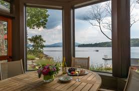 new hampshire home settling into lakeside living