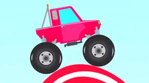 youtube monster truck videos and vehicles colors letters youtube s monster truck kids videos
