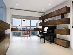 york city living room using a piano as focal point