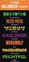 halloween freebie 7 free fall fonts with free printable font series 25