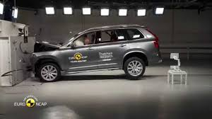 volvo jeep 2015 euro ncap crash test of volvo xc90 2015 youtube