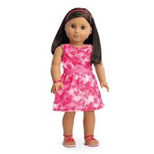 ruffle girl hearts ruffle for 18 inch dolls american girl