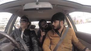Blind Person Driving Mirchi Murga Blind Man Driving Rj Naved Prank Youtube