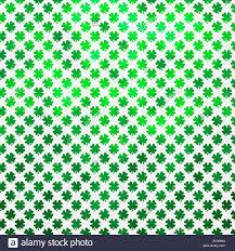 irish shamrock four leaf clover st patrick u0027s day polka dot stock