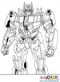 coloring pages elegant transformers optimus prime coloring pages