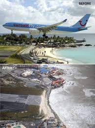 there is not much left of maho beach st martin aviation