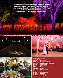 wedding planner magazine dj jer in the wedding planner magazine sioux falls dj jer
