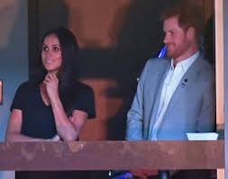 prince harry kisses meghan markle hangs with her mom at invictus