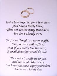 wedding poems fresh wedding invitation wording for gifts of money for wedding