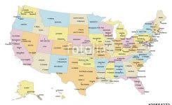map of states and capitals in usa us map states and capitals usa states and capitals map united
