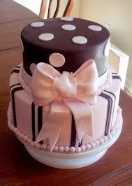 brown cake pink and brown polka dot cake a of cake utah
