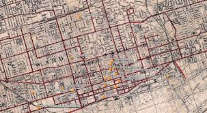 Map Of Toronto Mapping The History Of Work In Canada Rethink University