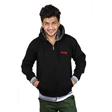 grahakji men u0027s black hooded sweatshirt buy grahakji men u0027s black