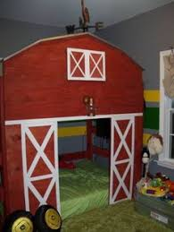 Pallet Bunk Bed Oh Yeah Easy I Can Make This Projects by What Little Boy Wouldn U0027t Want A Giant Tractor In Their Room