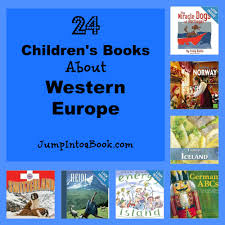 read around the continents 24 children u0027s books about western