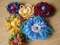 yoonie-at-home  : Tutorial : Felt Flower Pins for Summer!
