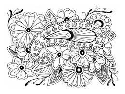 free printable coloring pages for adults advanced glum me