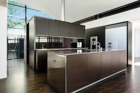 Poggenpohl Kitchen Cabinets Cube Shaped Kitchen Combines Two Tone Poggenpohl Cabinetry With