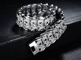 mens bracelet sterling silver images Brilliant sterling silver 925 mens bracelet png