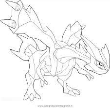 pokemon coloring pages white kyurem legendary pokemon white kyurem coloring page
