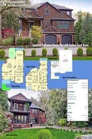 Two Story Craftsman House 104 Best Craftsman House Plans Images On Pinterest Craftsman