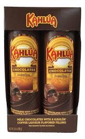 turin kahlua coffee liqueur flavor filled milk chocolates 14 1 oz
