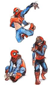 spiderman sketches 2 by zinfer on deviantart