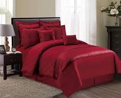 piece fiona burgundy comforter set