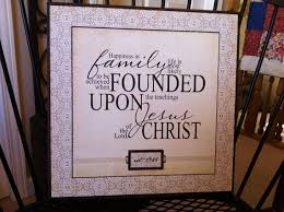 framed family proclamation lds family proclamation quote plaque cusomized