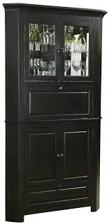 corner bar cabinet black wine and spirit black corner cabinets 695 082 cornerstone estates