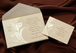 order wedding invitations calla wedding invitations brown vintsge soft color style