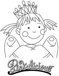 pinkalicious coloring page h u0026 m coloring pages