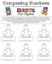 composing and decomposing numbers worksheet free worksheets