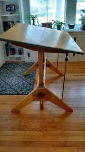 Mayline Oak Drafting Table Vintage Mayline Drafting Table Vintage