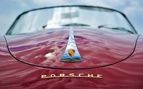porsche logo image porsche logo emblem cloud covered red automobile 2560x1600
