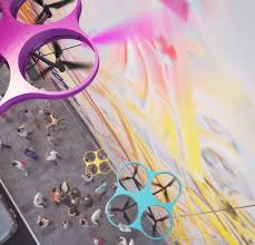 New Paint by Carlo Ratti Associati Reveals New Paint System Using Drone